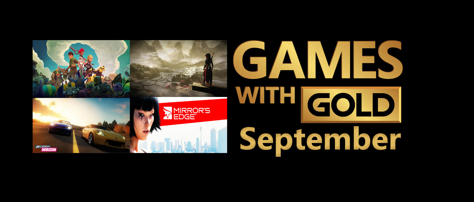 September's Games with Gold Revealed - Xbox Wire