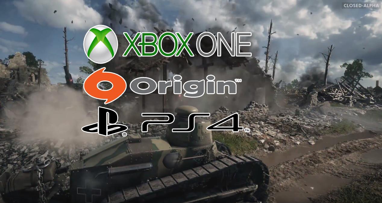 Battlefield 1 open beta не даётся оружие в начале игры - a9