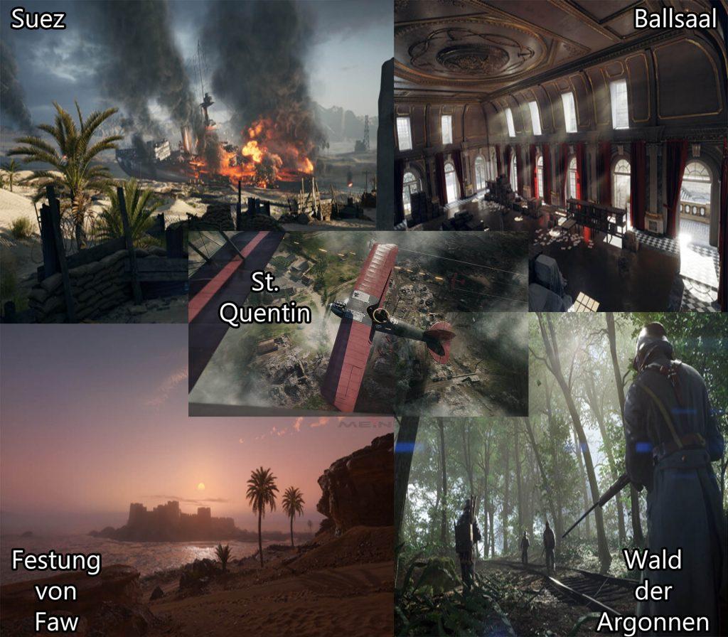 Battlefield Karten Überblick