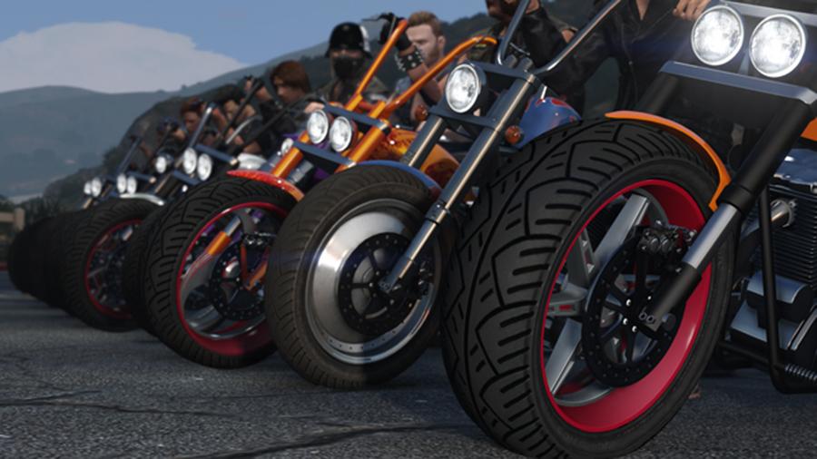GTA 5 Online Motorrad DLC Neu