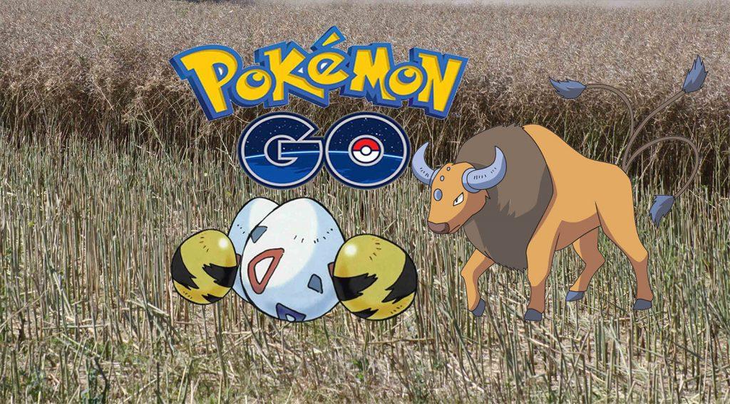 Pokémon Eier Regional Tauros