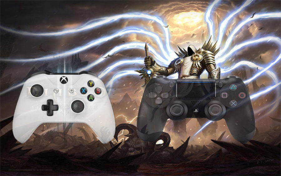 how to play diablo 3 multiplayer on xbox one