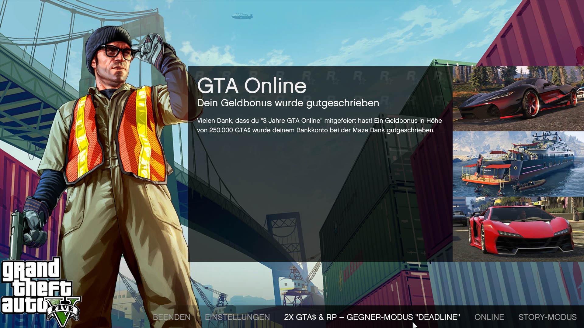 wie kann man bei gta 5 online spielen