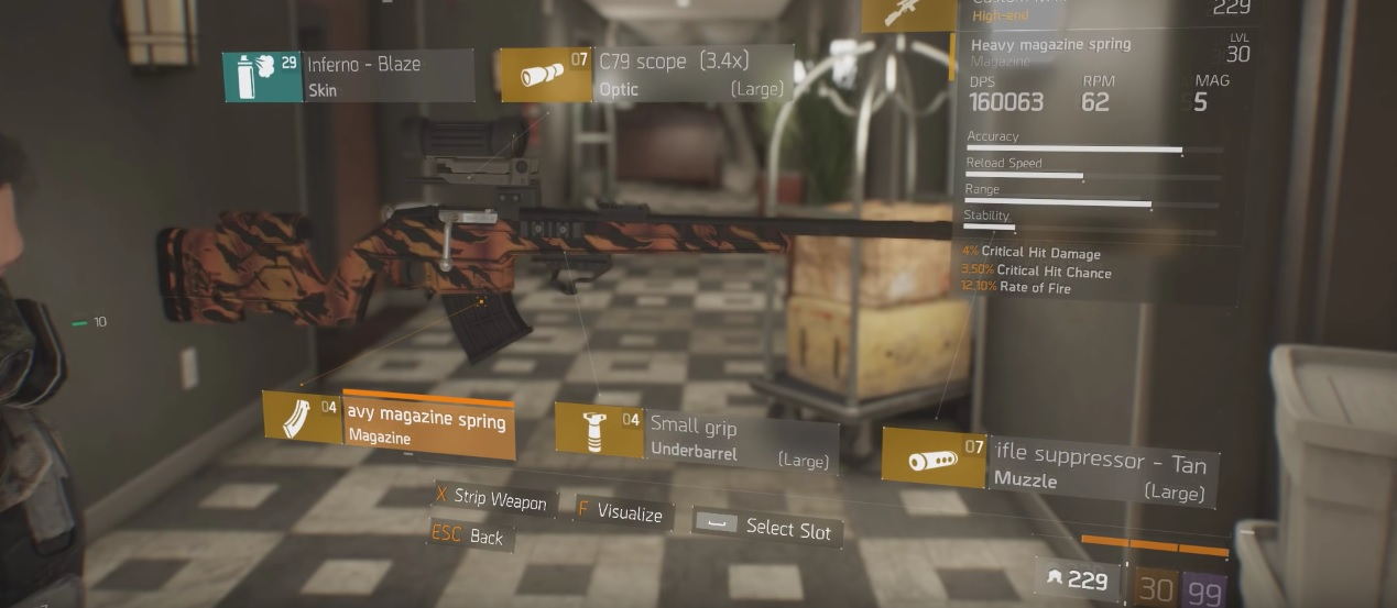 The Division   Sniper Build