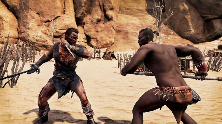 conan exiles fight