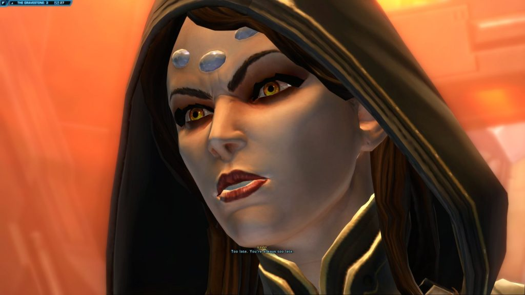 swtor vaylin too late