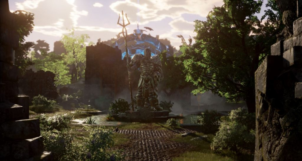 ashes of creation statue