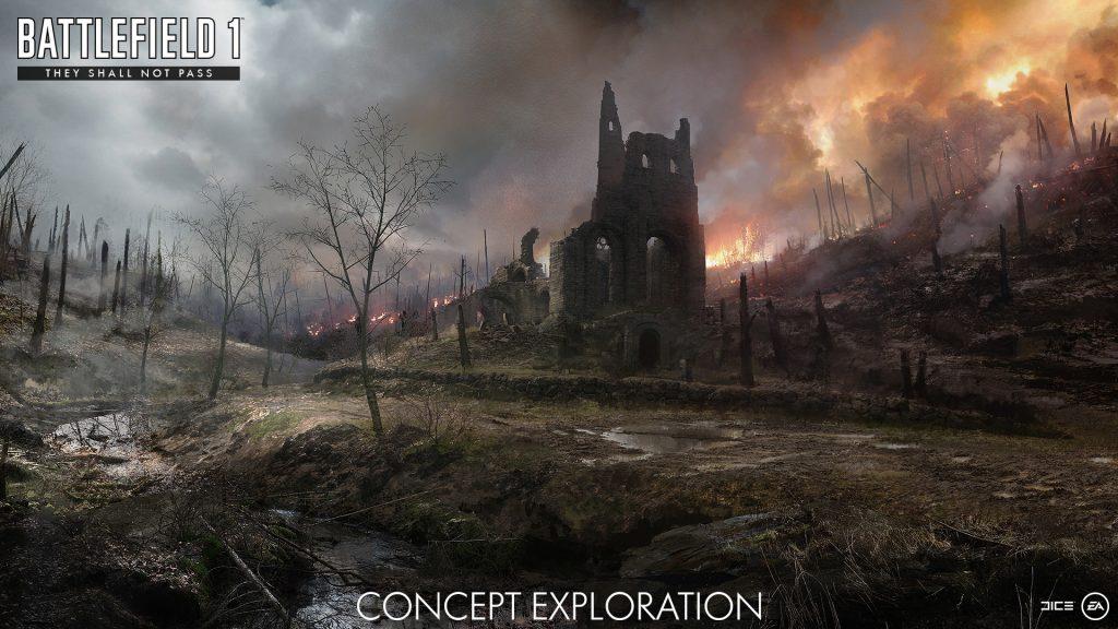 Battlefield 1 Map Konzept