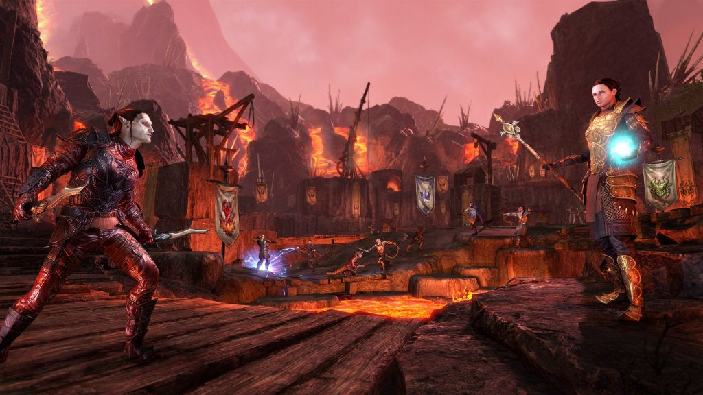 ESO Addon Morrowind PvP Battleground