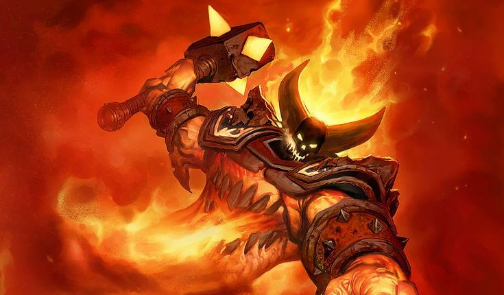 Hearthstone Ragnaros Artwork Header