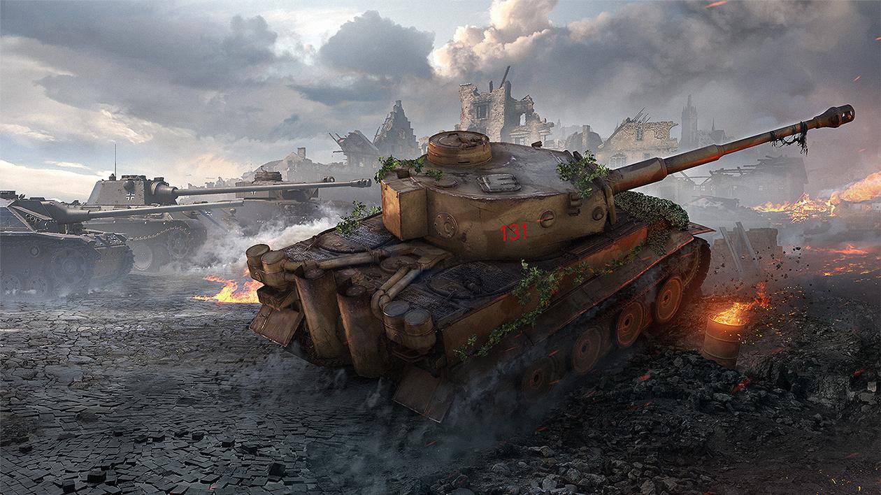 world of tanks tiger131