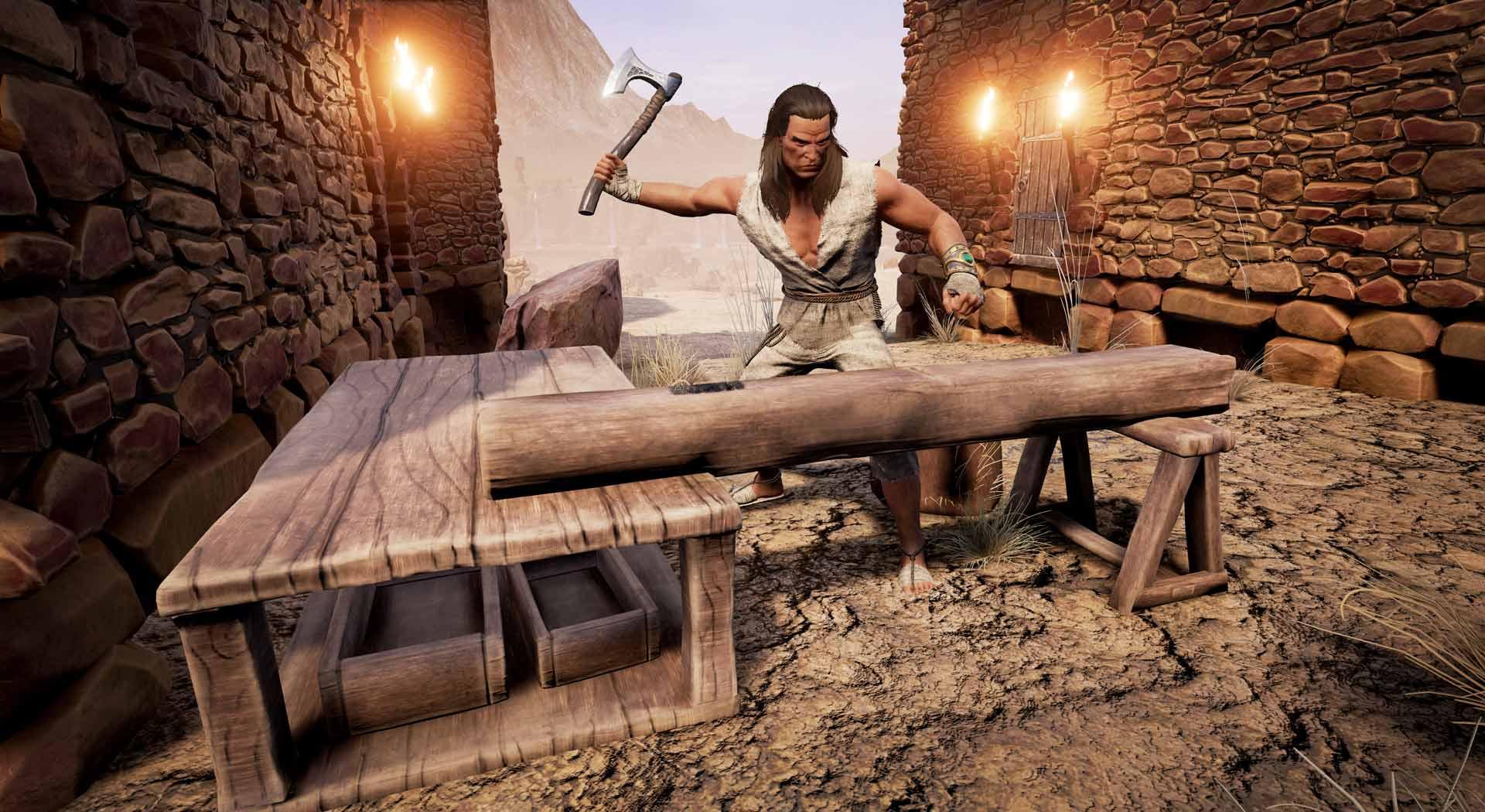 Conan Exiles Handwerker