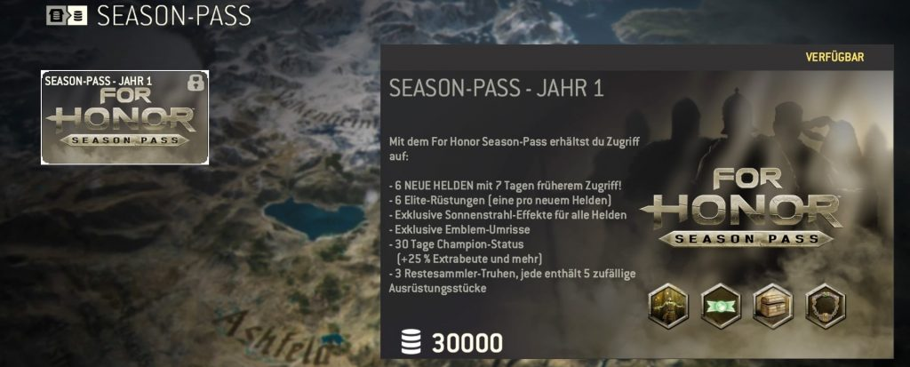 For Honor season