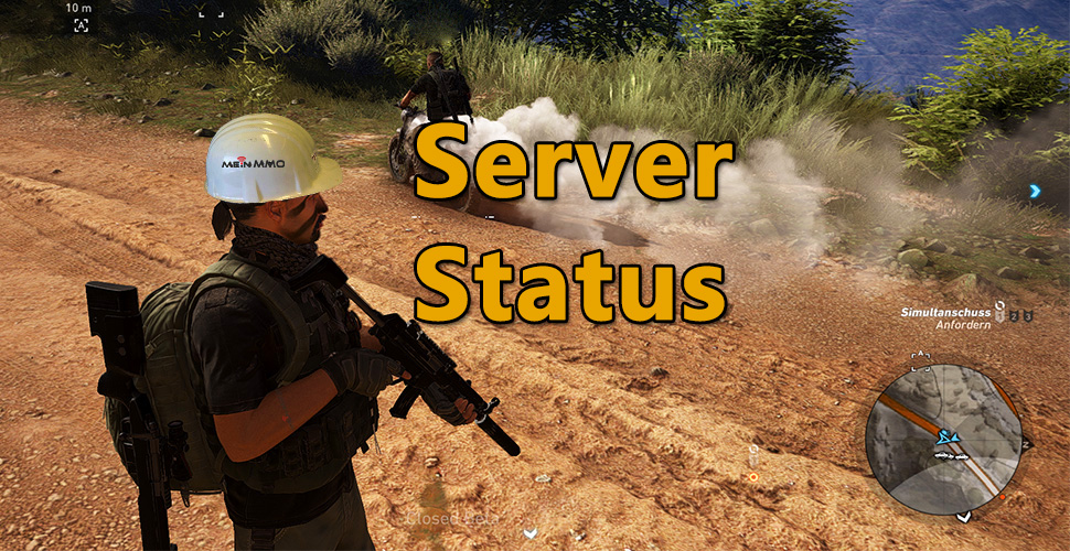 Ghost Recon Server Status Logo