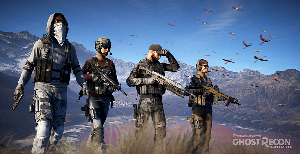 Ghost Recon Wildlands Screenshot Koop Titel
