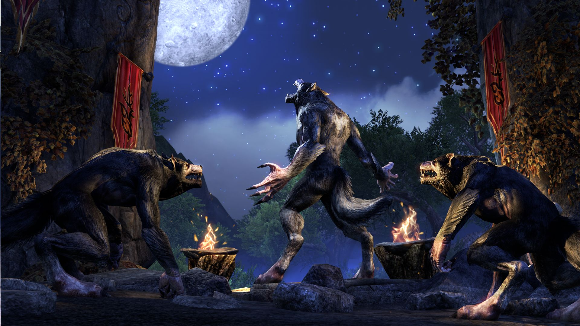 the elder scrolls online werwolf oder vampir werden. Black Bedroom Furniture Sets. Home Design Ideas