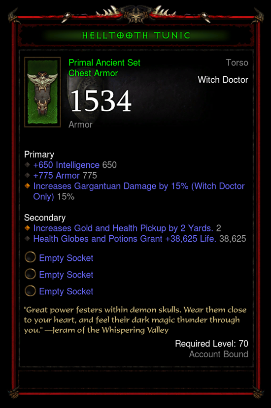 Legendary items diablo 3 ps4 patch