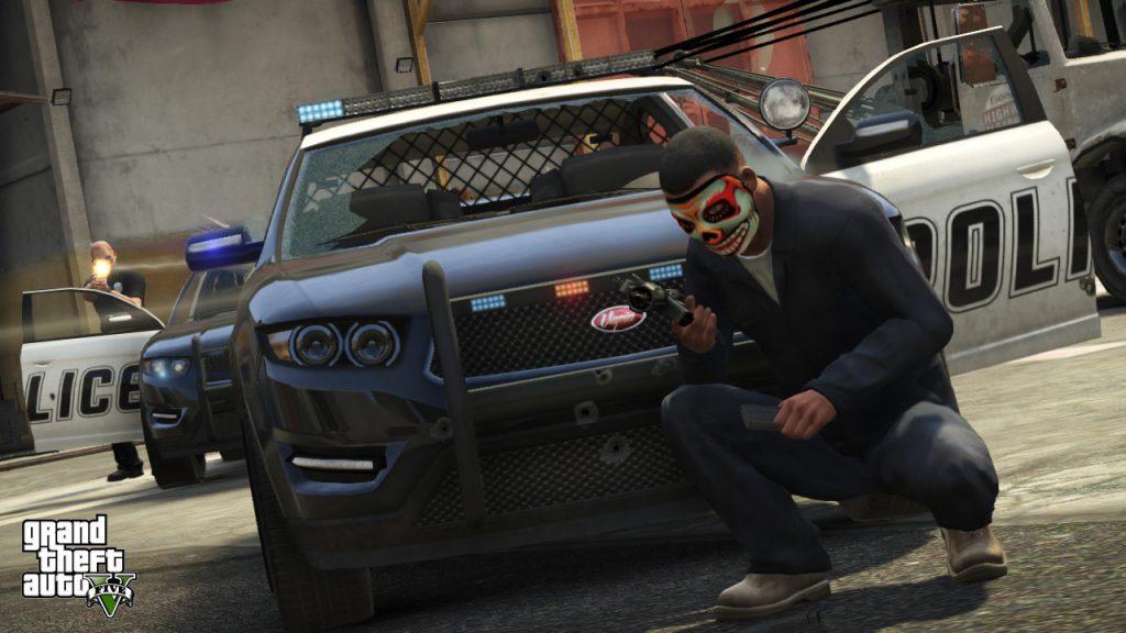 GTA 5 Online Polizeiwagen