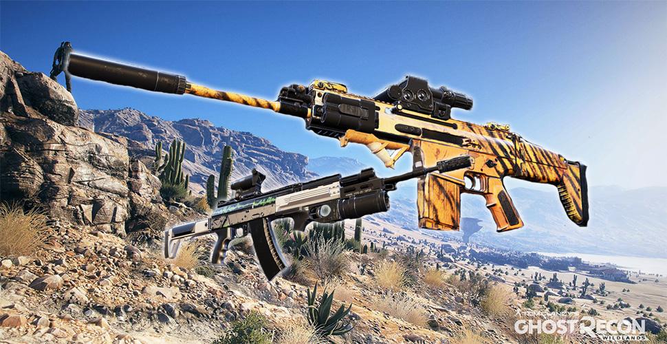 Ghost Recon Wildlands Sturmgewehre Titel