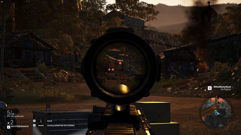 Ghost Recon Wildlands Zielen 150 Meter