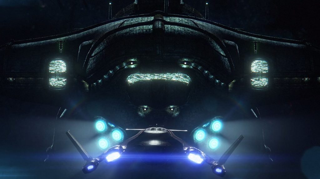Mass Effect Andromeda Kett Ship