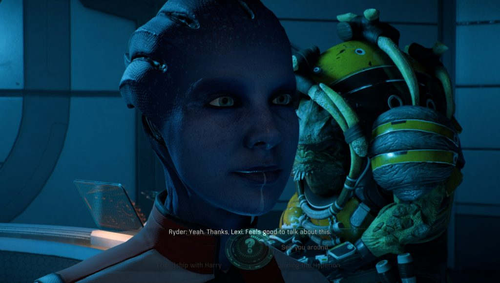Mass Effect Andromeda Lexi