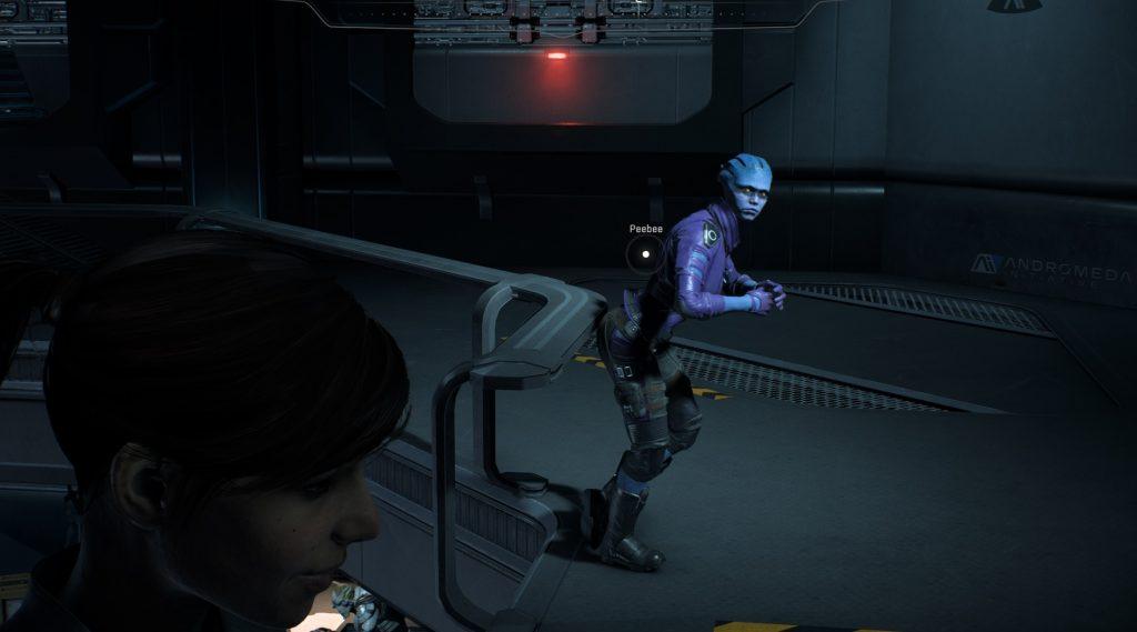 Mass Effect Andromeda Peebee Bugged
