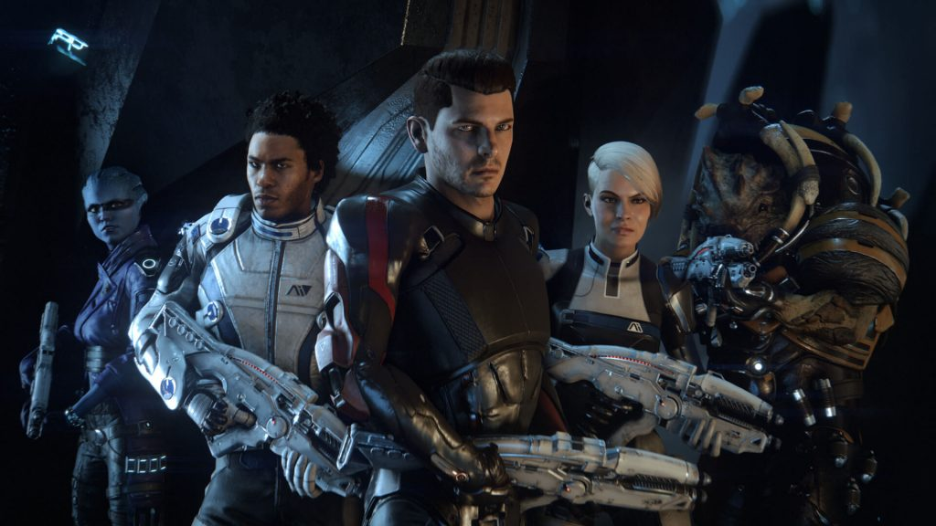 Mass Effect Andromeda Team
