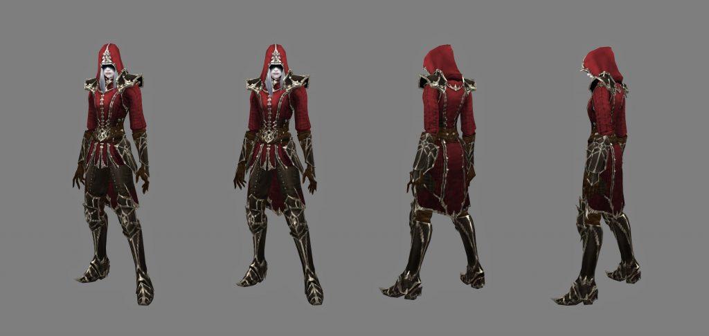 Diablo 3 Screenshot Necro Pose