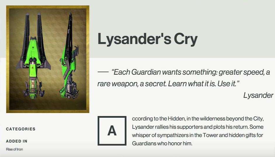 destiny-lysander