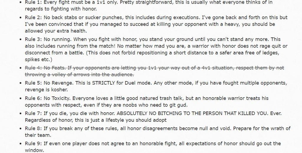 for-honor-regeln