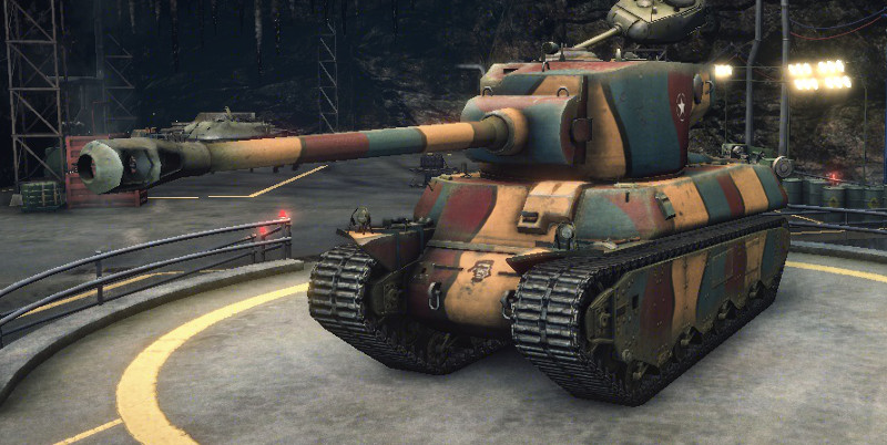 world of tanks M6A2E1