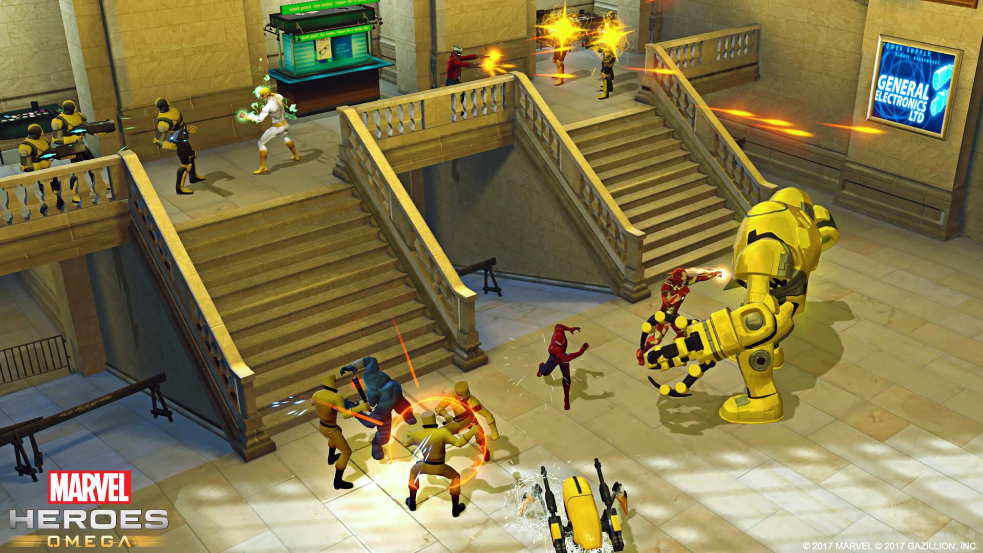 Marvel Heroes Omega Mission