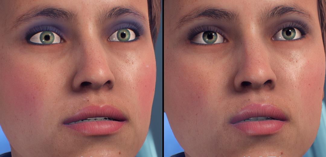 Mass Effect Andromeda Gesichter Vorher Nachher Title