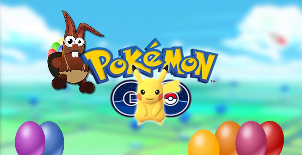 Pokemon GO Ostern Titel