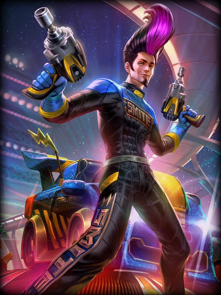 SMITE Apollo Racer God Card