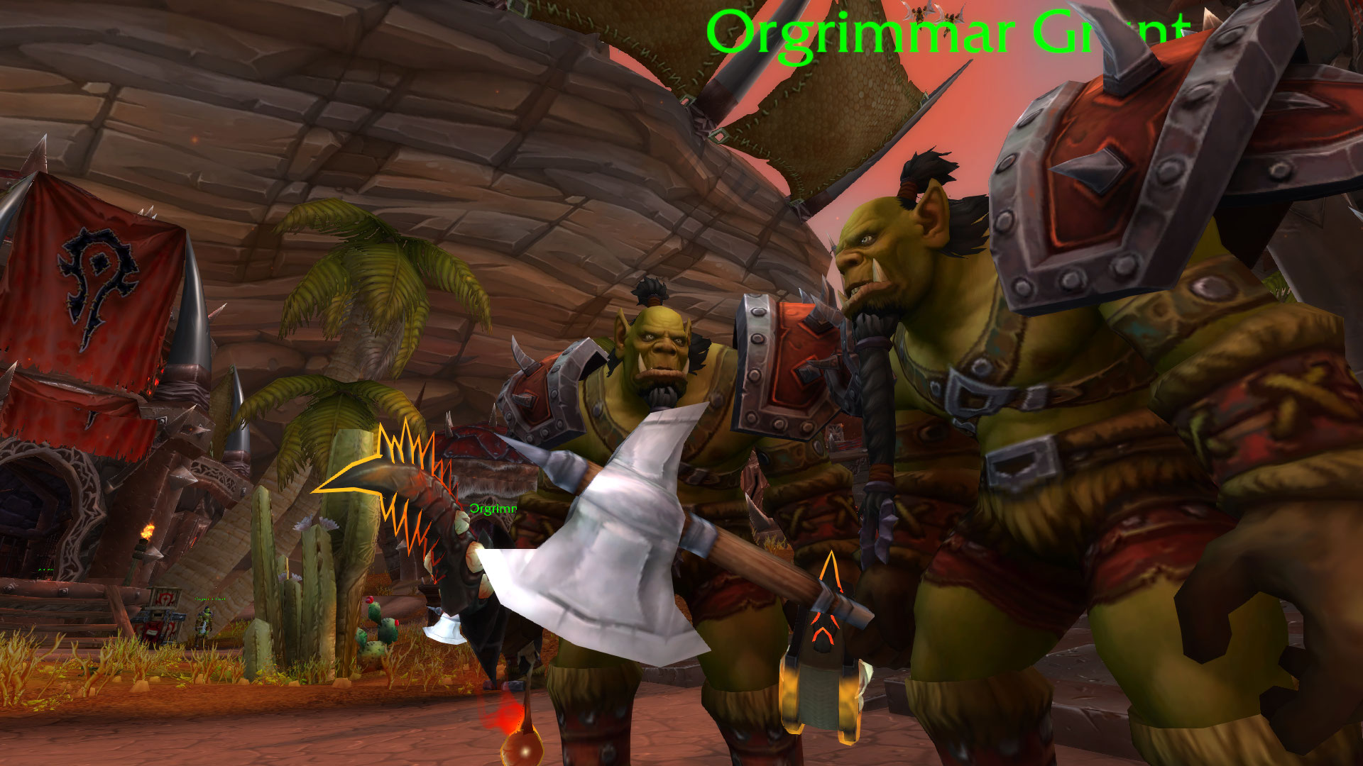WoW Guards Orgrimmar Grunt