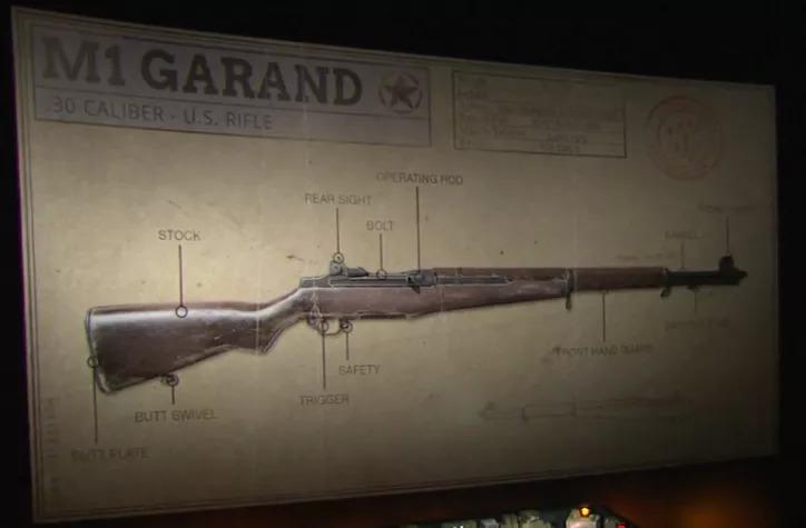 COD WW2 Garand