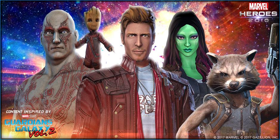 Marvel Heroes Guardians
