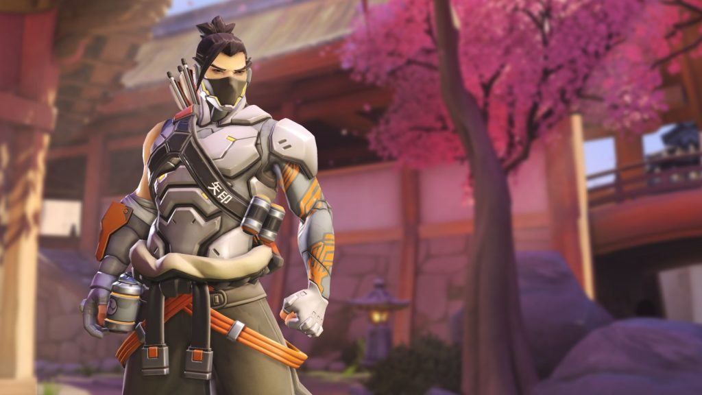 Overwatch Cyberninja Hanzo