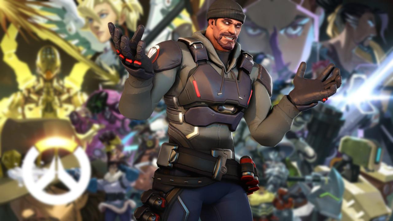 Overwatch Reaper Shrug Background
