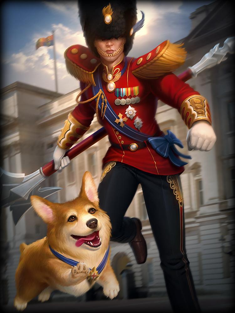 SMITE Skadi Doge God Card