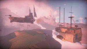 Worlds Adrift Schiff