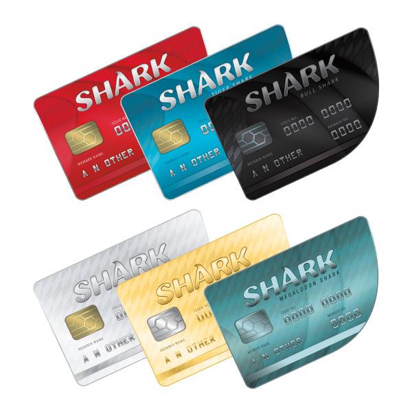 GTA 5 Online Shark Cards