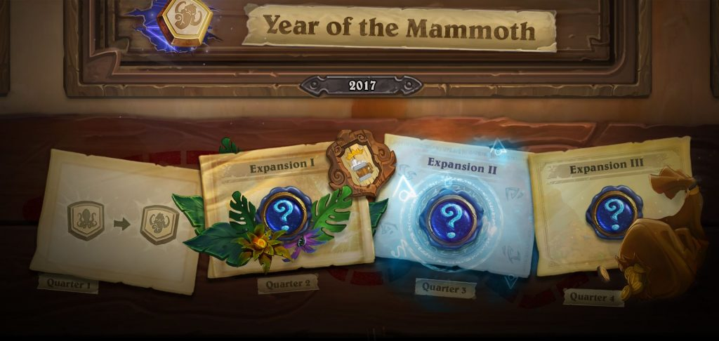 Hearthstone Mammoth Release Plan