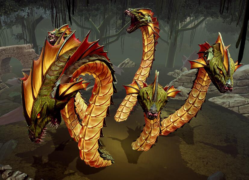 Smite Trials Herkules Boss Hydra