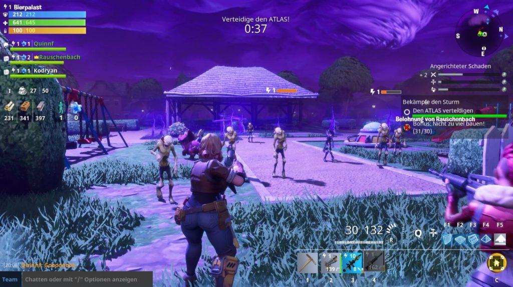 Fortnite ZombieWelle