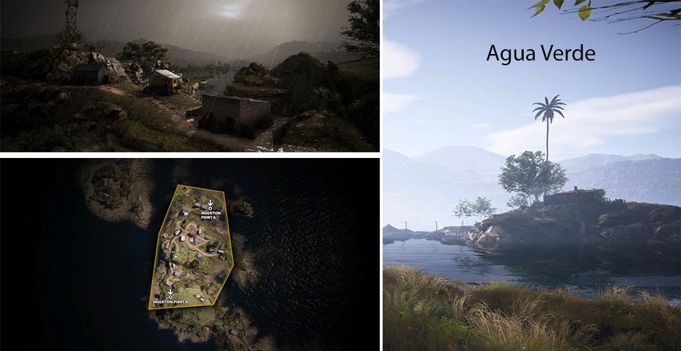 Ghost Recon Wildlands Agua Verde Leak