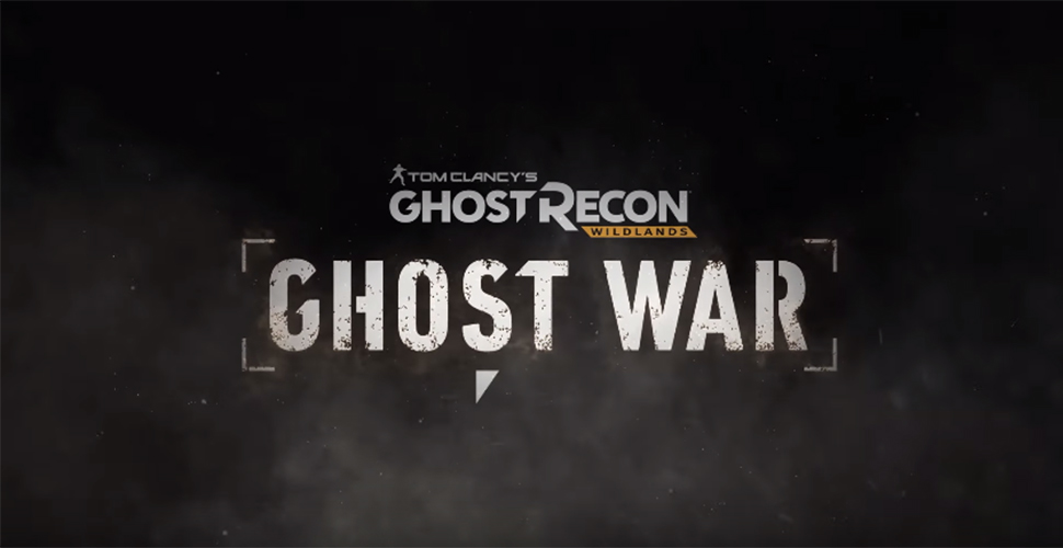 Ghost Recon Wildlands Ghost War Titel