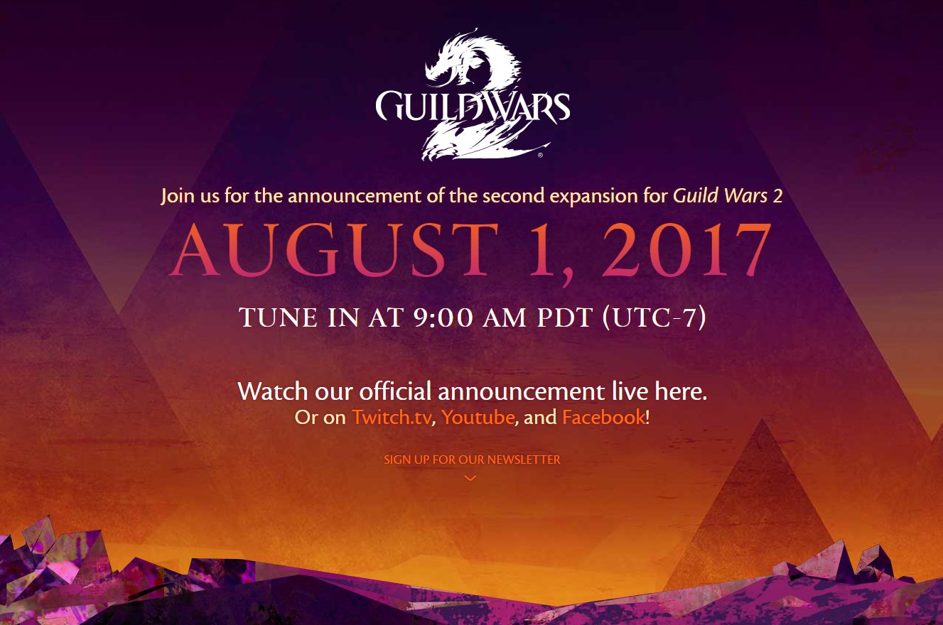 Guild-Wars-2-Ankündigung